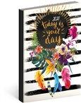 Obálka knihy Denní diář Cambio Fun 2020, your day 15 × 21 cm