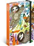 Obálka knihy Týdenní diář Lenochodi 2020, 11 × 16 cm